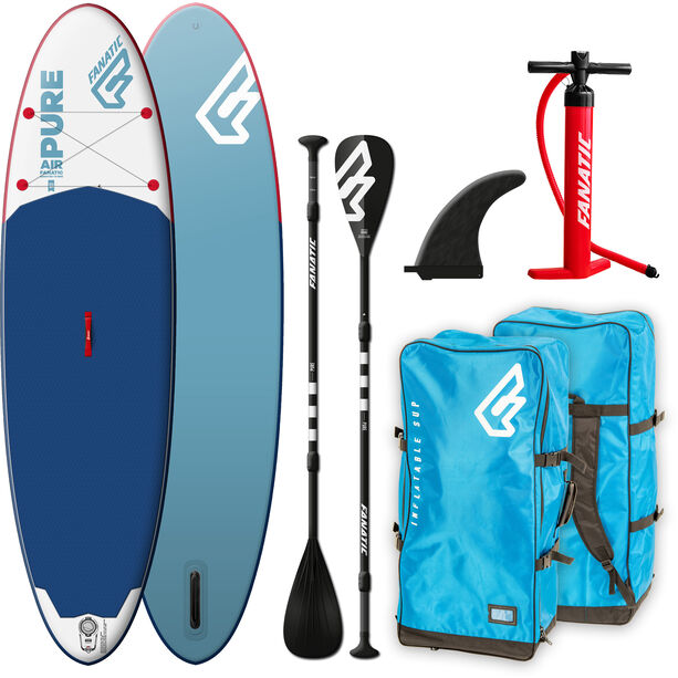 "Fanatic Pure Air Package 11'6"" Inflatable Sup with Paddles and Pump none"