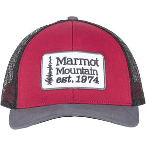 Marmot Retro Trucker Hat Herr sienna red/dark steel sienna red/dark steel