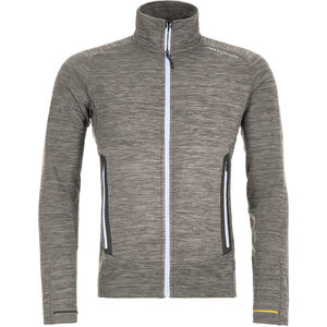 Ortovox Merino Fleece Light Melange Jacket Herr grey blend grey blend
