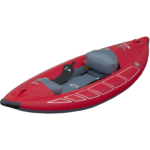 NRS STAR Viper Inflatable Kayak red