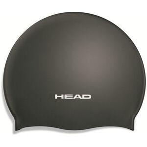 Head Silicone Moulded Swimcap black black