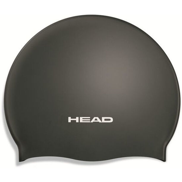 Head Silicone Moulded Swimcap black