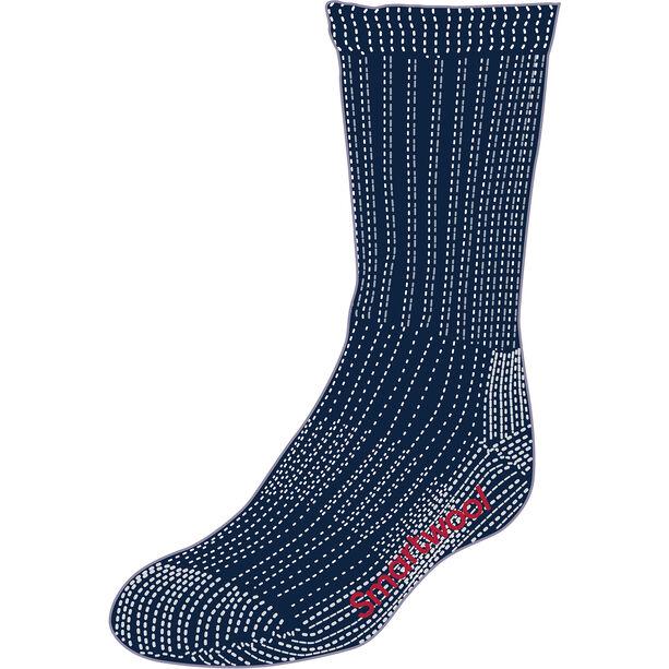 Smartwool Hike Medium Crew Socks Barn deep navy