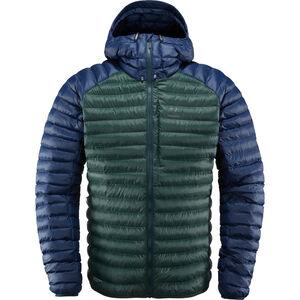 Haglöfs Essens Mimic Hooded Jacket Herr mineral/tarn blue mineral/tarn blue