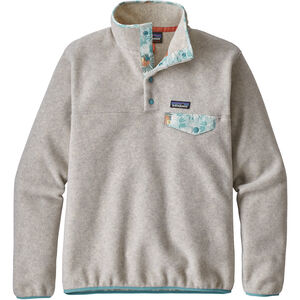 Patagonia LW Synch Snap-T Pullover Dam oatmeal heather
