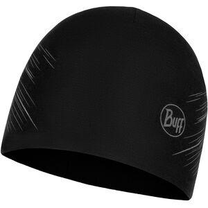 Buff Microfiber Reversible Hat black black