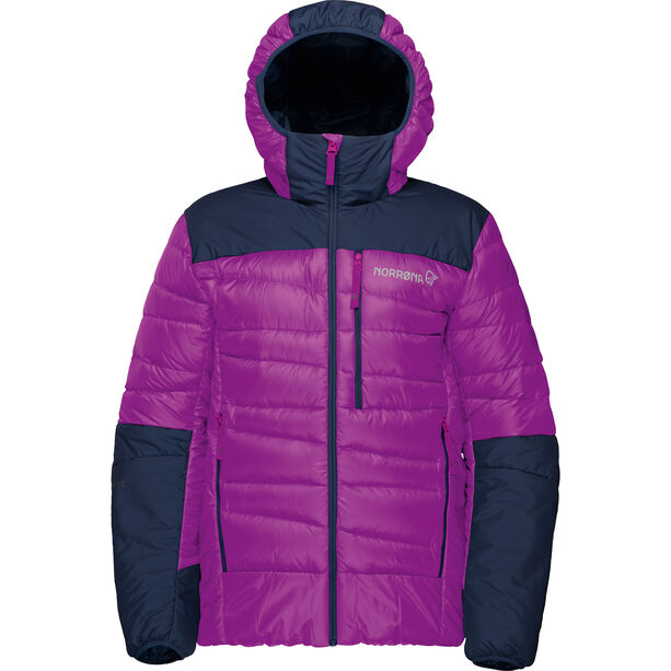 Norrøna Falketind Down750 Hood Jacket Barn royal lush