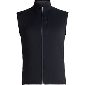 Icebreaker Tech Trainer Hybrid Vest Herr black/jet heather black/jet heather