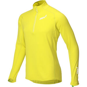 inov-8 Technical Mid LS HZ Shirt Herr yellow yellow