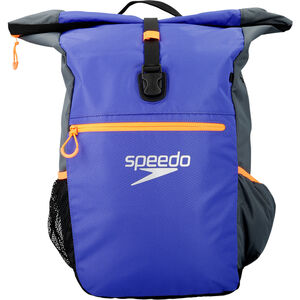 speedo Team III+ Backpack oxid grey/ultramarine oxid grey/ultramarine