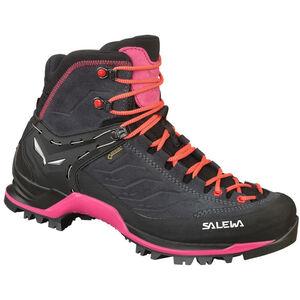 SALEWA MTN Trainer Mid GTX Shoes Dam asphalt/sangria asphalt/sangria