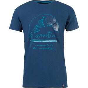 La Sportiva Connect T-shirt Herr opal opal