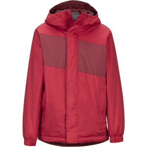 Marmot PreCip Eco Insulate Jacket Pojkar Team Red/Brick Team Red/Brick