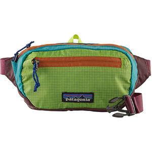 Patagonia Ultralight Black Hole Mini Hip Pack patchwork/peppergrass green patchwork/peppergrass green