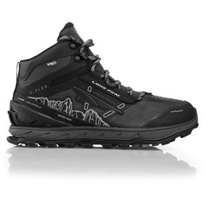 Altra Lone Peak 4 Mid RSM Trail Running Shoes Herr black black