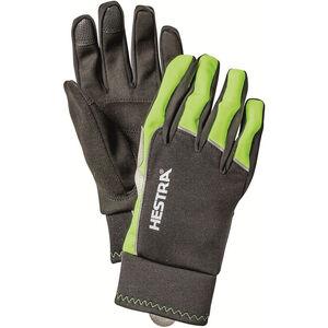 Hestra Bike WS Tracker Sr. 5 Finger Gloves varselgul/svart varselgul/svart