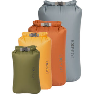 Exped Fold Drybag STD XS-L 4 Pack