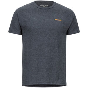 Marmot Vallemar SS Tee Herr Charcoal Heather Charcoal Heather