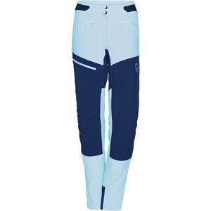 Norrøna Fjørå Flex1 Pants Dam trick blue/indigo night trick blue/indigo night
