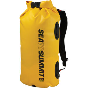 Sea to Summit Hydraulic Dry Pack 35l with Harness yellow yellow