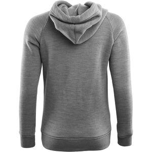 Aclima WoolFleece Hoodie Dam Grey Melange Grey Melange