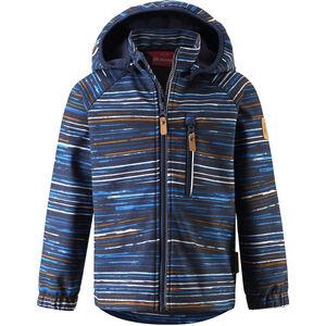 Reima Vantti Softshell Jacket Barn Navy Navy