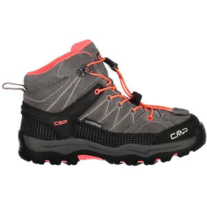 CMP Campagnolo Rigel Mid WP Trekking Shoes Barn grey-red fluo grey-red fluo