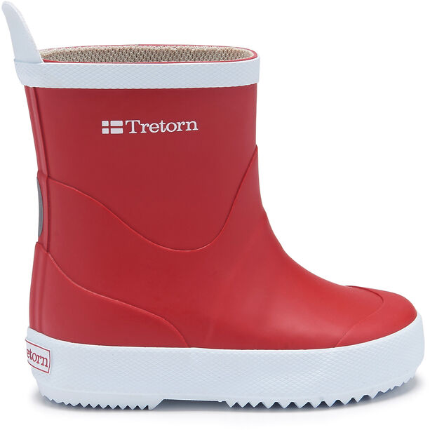 Tretorn Wings Rubber Boots Barn red