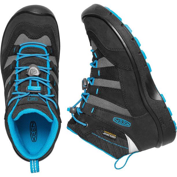 Keen Hikeport WP Mid Shoes Barn black/blue jewel