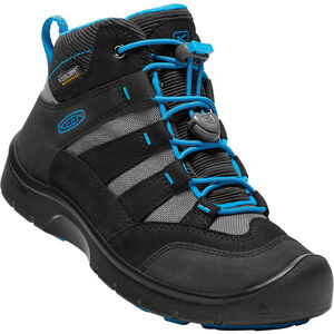 Keen Hikeport WP Mid Shoes Barn black/blue jewel black/blue jewel