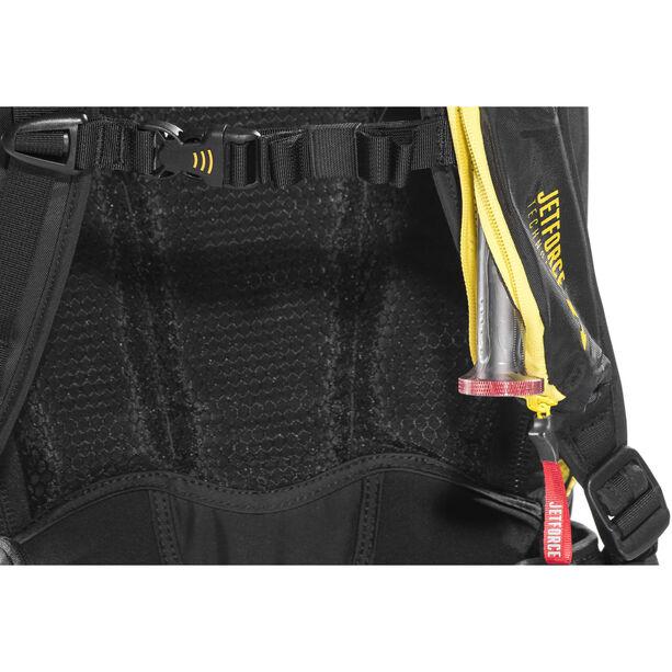 Pieps Jetforce Rider 10 Avalanche Backpack black/yellow