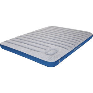 High Peak Cross Beam Double Air Bed Extra Long light grey/blue light grey/blue