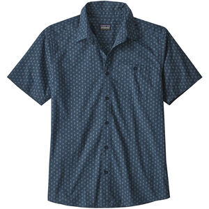 Patagonia Go To Shirt Herr space micro/stone blue space micro/stone blue