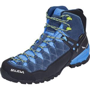 SALEWA Alp Trainer Mid GTX Shoes Herr dark denim/cactus dark denim/cactus