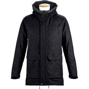 Alchemy Equipment Insulated Tech Wool Coat Herr black black