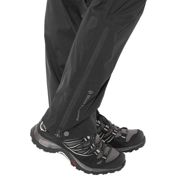 Black Diamond Stormline Stretch Rain Pants Dam black