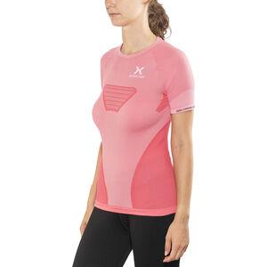 X-Bionic Speed Evo Running Shirt SS Dam pink paradise/pearl grey pink paradise/pearl grey