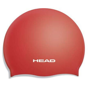 Head Silicone Flat Cap Barn red red