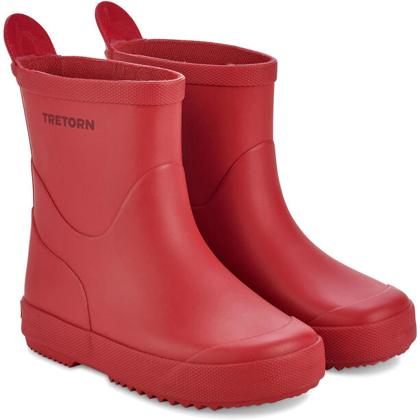 Tretorn Wings Monochrome Rubber Boots Barn red