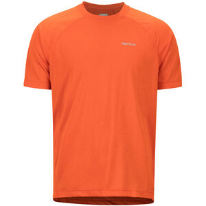Marmot Accelerate SS Shirt Herr orange haze heather orange haze heather