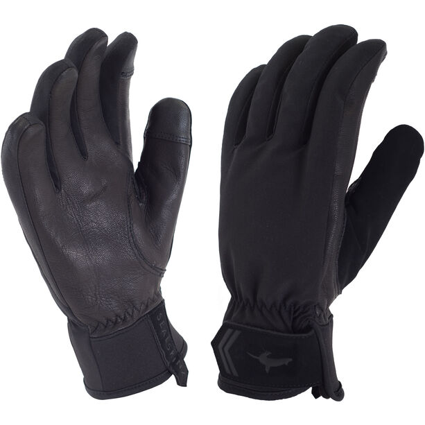 Sealskinz All Season Gloves Dam black/charcoal