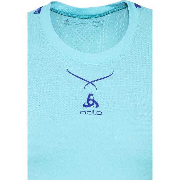 Odlo Ceramicool Seamless Shirt S/S Crew Neck Dam blue radiance-spectrum blue