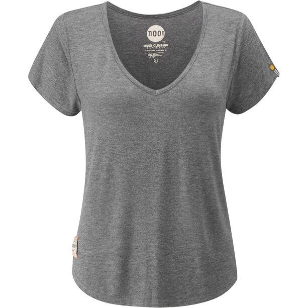 Moon Climbing Lyra T-shirt Dam grey marl