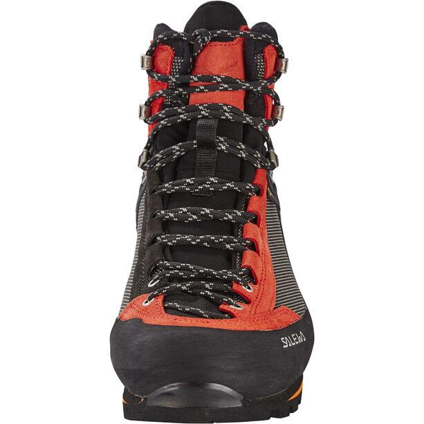 SALEWA Crow GTX Shoes Herr black/papavero