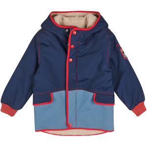 Finkid Pikku Mukka Reversible Winterjacket Barn navy/red navy/red
