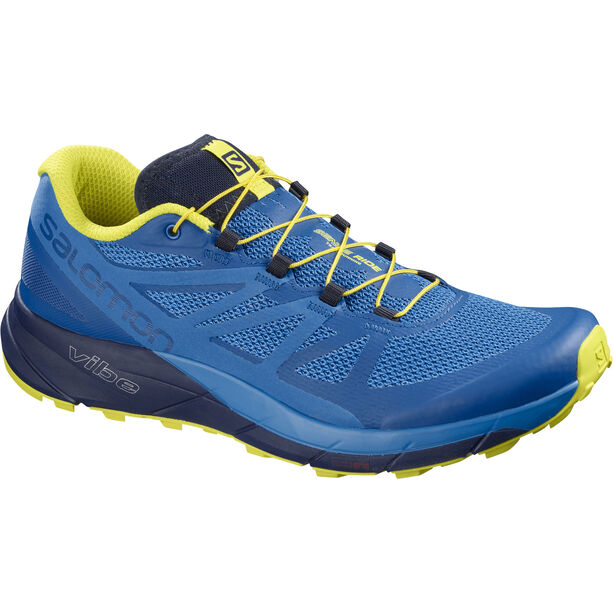 Salomon Sense Ride Shoes Herr snorkel blue/indigo bunting/sulphur spring