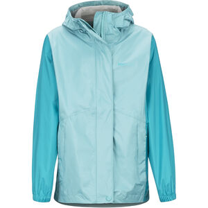 Marmot PreCip Eco Jacket Flickor Aquarelle/Blue Tile Aquarelle/Blue Tile
