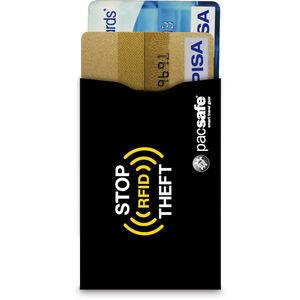 Pacsafe RFIDsleeve 25 Credit Card Sleeve 2 Pack black black