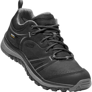 Keen Terradora Leather WP Shoes Dam black/steel grey black/steel grey