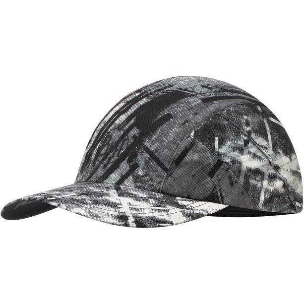 Buff Pro Run Cap reflective-city jungle grey